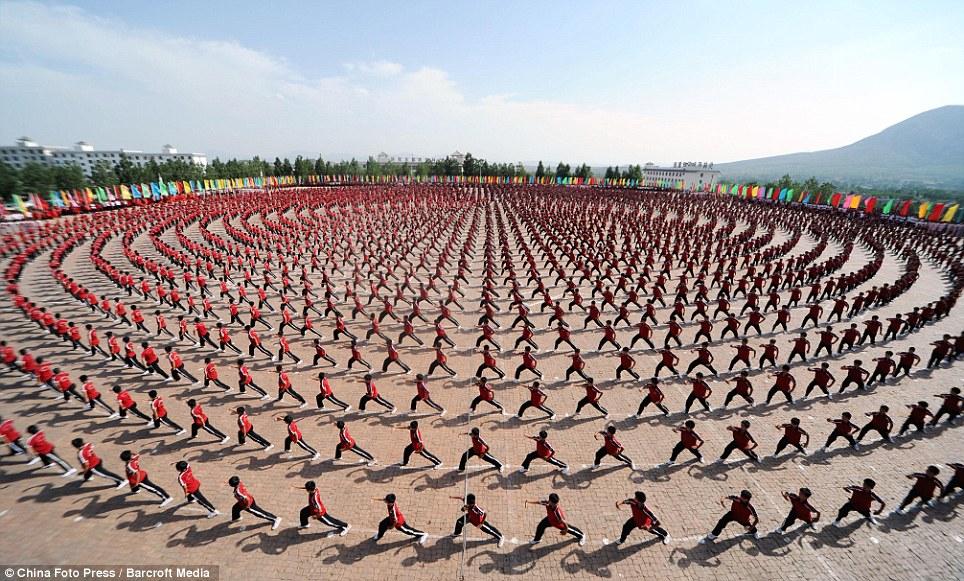 Kung Fu inChina