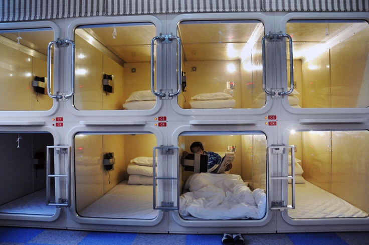 "Tiny ""Capsule Hotel"" Options"