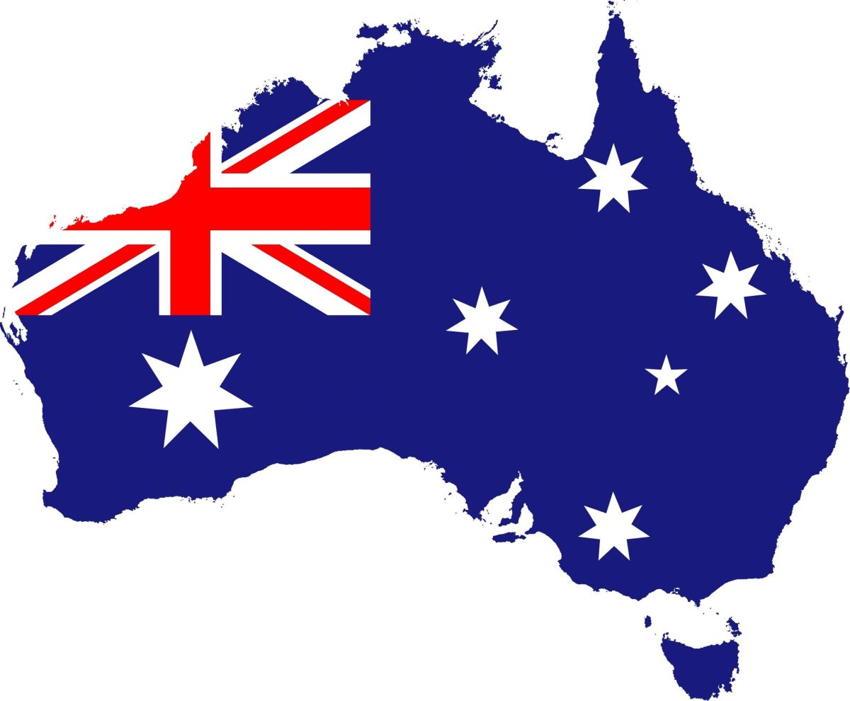It is Australia!