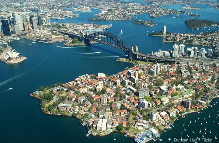 Landing in Australia